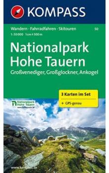 Nationalpark Hohe Tauern - 3 mapy