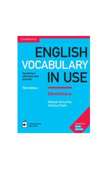English Vocabulary in Use Elementary with Answers and Enhanced ebook, 3E -- Učebnice