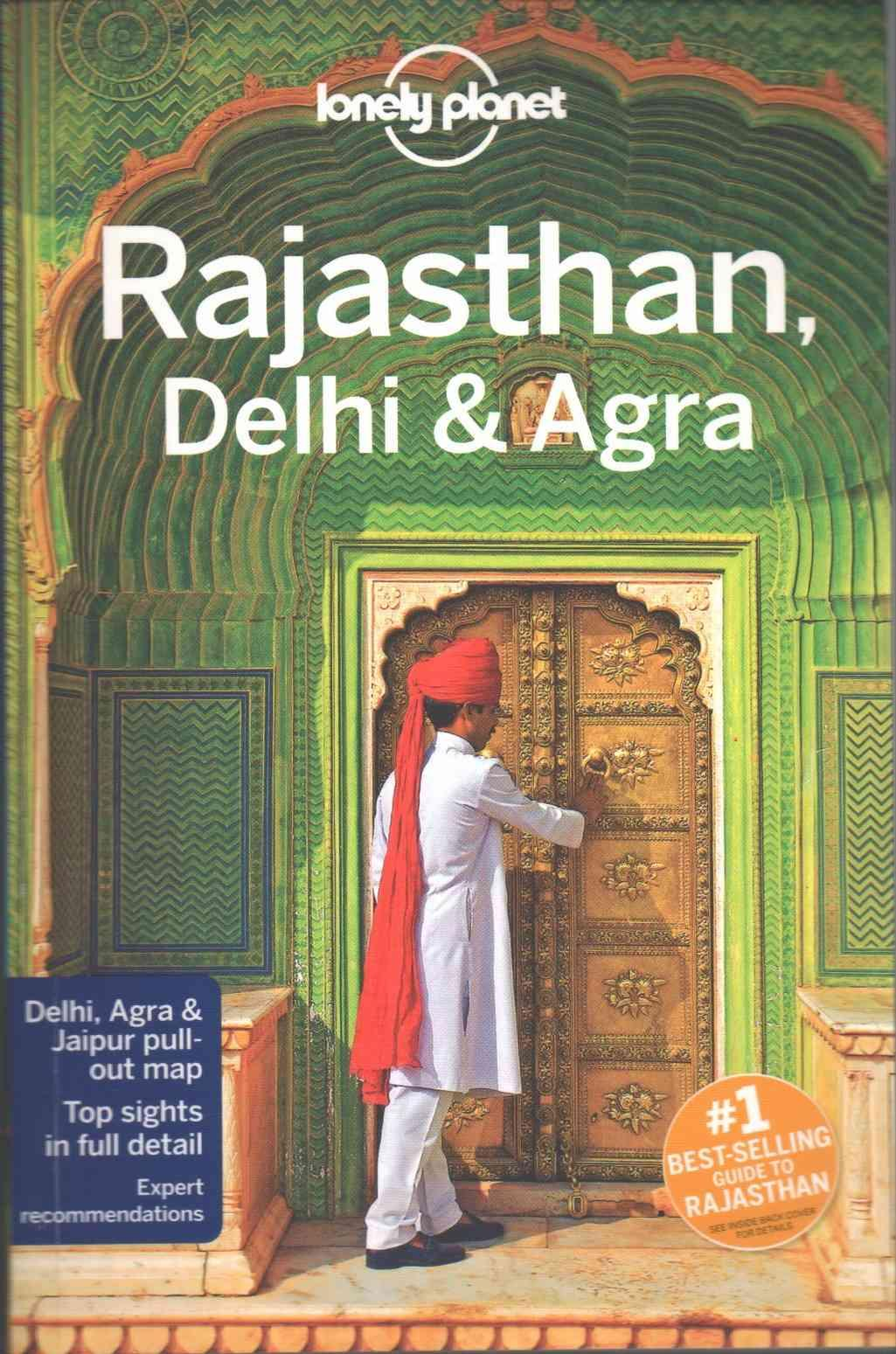 Lonely Planet Rajasthan Delhi & Agra 4.