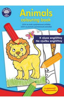 Animals colouring book -- K výuce angličtiny 3+
