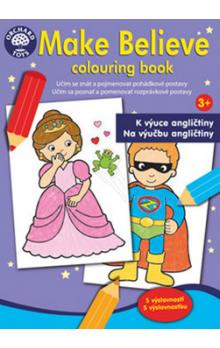 Make Believe colouring book -- K výuce angličtiny 3+