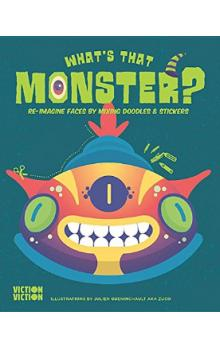 What&#39s That Monster? Create monster faces using colours, doodles & stickers