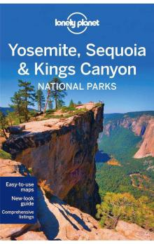 Yosemite, Sequoia & Kings Canyon NP / průvodce Lonely Planet
