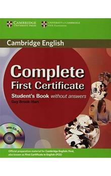 Complete First Certificate Student´s Book with CD-ROM