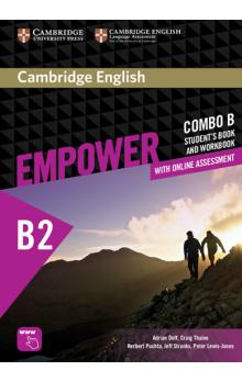 Cambridge English Empower Upper Intermediate Combo B with Online Assessment -- Učebnice