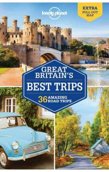 Great Britain's Best Trips / průvodce Lonely Planet