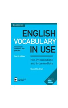 English Vocabulary in Use Pre-intermediate and Intermediate with answers and Enhanced ebook, 4E -- Učebnice