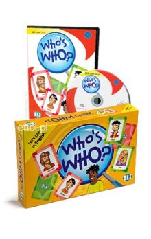 Let´s Play in English: Who´s Who? Game Box and Digital Edition