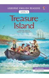 Usborne English Readers 3: Treasure Island