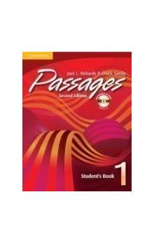 Passages Second Edition 1 Student&#39s Book With Audio Cd An Upper-Level Multi-Skills Course