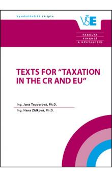 Texts for Taxation in the CR and EU