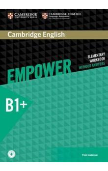 Empower B1+ Intermediate Workbook without Answers with Online Audio