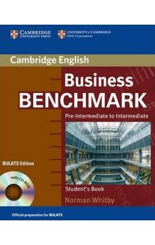 Business Benchmark Pre-Intermediate to Intermediate: Student´s Book with CD ROM