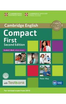 Compact First 2nd Edition: Student´s Book without Answers with CD-ROM with Testbank