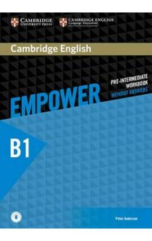 Empower B1 Pre-intermediate Workbook without Answers and Online Audio