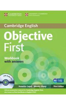 Objective First 3rd Edn: Workbook with Answers with Audio CD