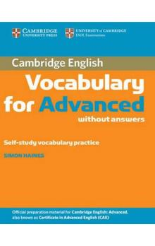 Cambridge Vocabulary for Advanced without Answers
