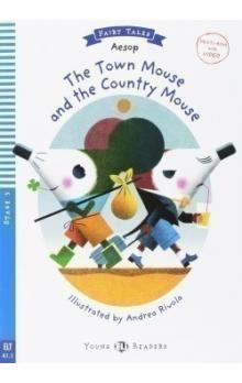 Young Eli Readers Stage 3 (cef A1.1): The Town Mouse and the Country Mouse with Multi-ROM