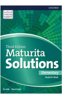 Maturita Solutions 3rd Edition Elementary Student&#39s Book Czech Edition