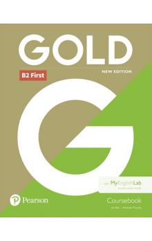 Gold B2 First 2018 Coursebook w/ MyEnglishLab Pack