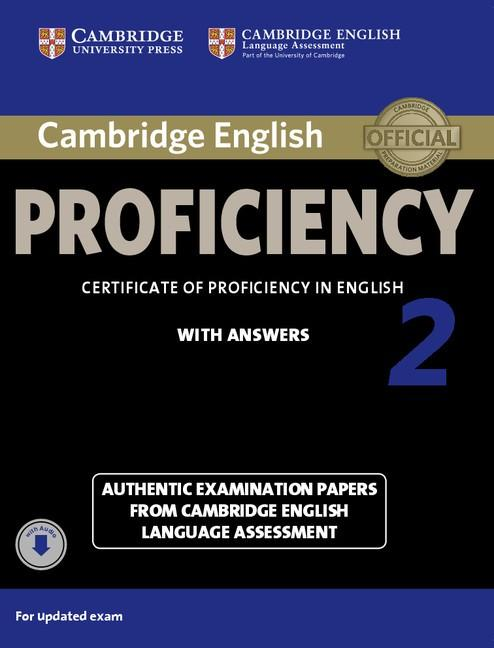 Cambridge English Proficiency 2 Student's Book with Answers with Audio -- Učebnice