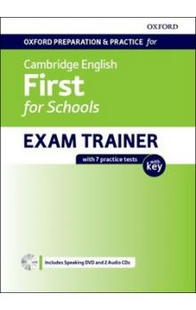 Cambridge English First for Schools -- Exam trainer with 7 practice tests