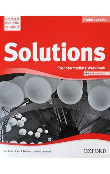 Solutions Second Edition Pre-Intermediate: Workbook + Audio CD (SK Edition)