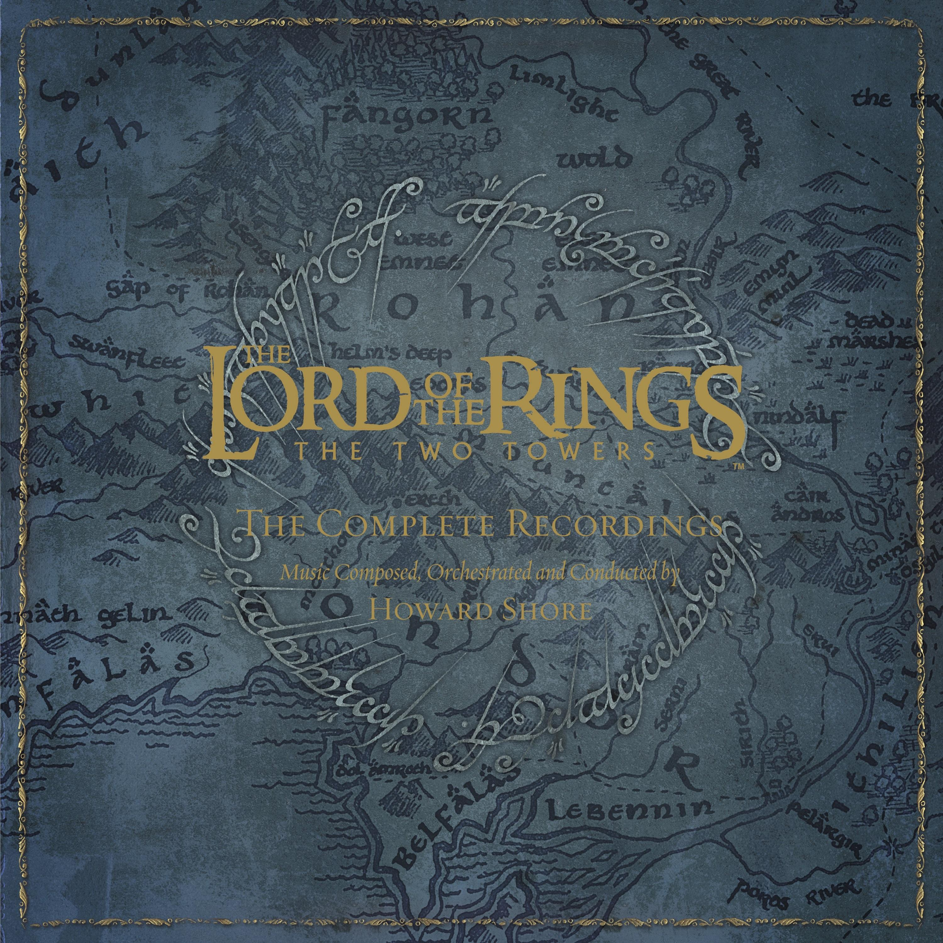 THE LORD OF THE RINGS: THE TWO TOWERS - THE COMPLETE RECORDINGS (3CD+BLU-RAY)