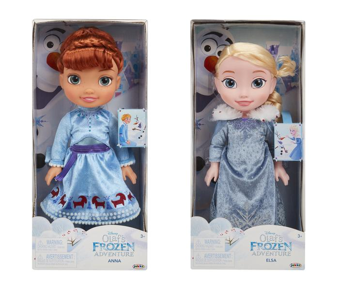 Frozen: Olaf´s Frozen Adventure Elsa and Anna Doll (2/4)