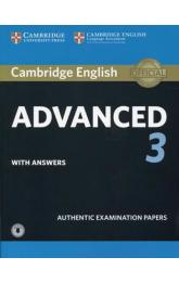 CAE Practice Tests: Cambridge English Advanced 3 Student's Book with Answers with Audio