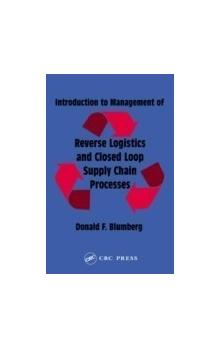 Introduction to Management of Reverse Logistics and Closed Loop Supply Chain Processes*