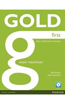 Gold First 2012 Exam Maximiser w/ CD (no key)