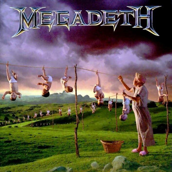 Youthanasia - Megadeth, CD album