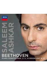 Piano Sonatas Nos. 3, 5, 14 Moonlight & 30 ( Ashkar )