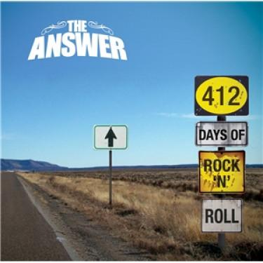 412 DAYS OF ROCK AND ROLL - THE ANSWER [CD album]