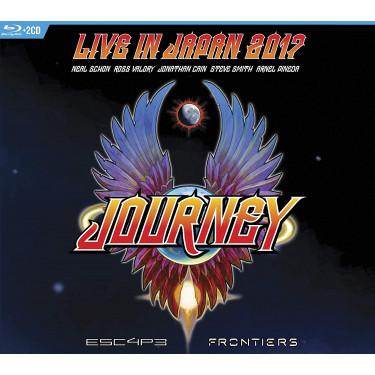 ESCAPE & FRONTIERS.../CD - JOURNEY [Blu-ray]