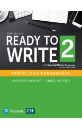 Ready to Write 2 with Essential Online Resources: Perfecting Paragraphs (5th Edition) (Level 2)