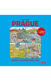 Prague -- Puzzles - Colouring - Quizzes
