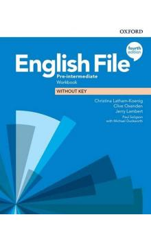 English File Fourth Edition Pre-Intermediate Workbook without Answer Key