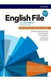 English File Fourth Edition Pre-Intermediate Teacher's Book with Teacher's Resource Center