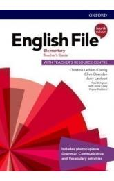 English File Fourth Edition Elementary Teacher's Book with Teacher's Resource Center
