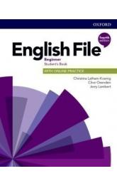 English File Fourth Edition Beginner Student's Book with Student Resource Centre Pack