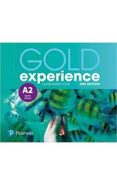Gold Experience 2nd Edition A2 Class CDs