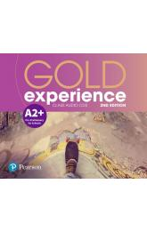 Gold Experience 2nd Edition A2+ Class CDs