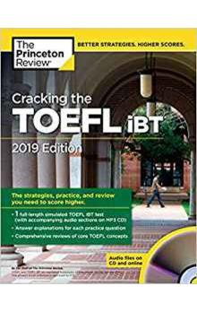 Cracking TOEFL iBT 2019+CD
