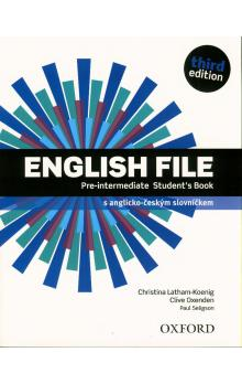 English File Pre-intermediate Student´s Book 3rd (CZEch Edition)