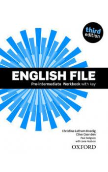 English File Pre-intermediate Workbook with Answer Key (3rd)