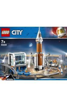 Lego City Space Port Start vesmírné rakety