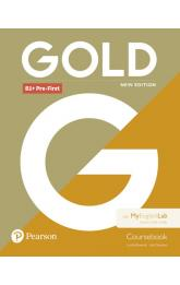 Gold B1+ Pre-First 2018 Coursebook w/ MyEnglishLab Pack
