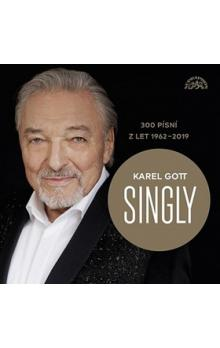 Karel Gott Singly 300 písní z let 1962-2019 -- BOX 15 CD